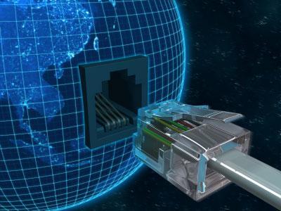 Utilice la fibra óptica para navegar sin límites